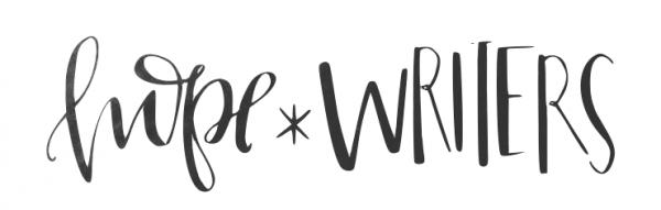 hopewriters logo hope*writers