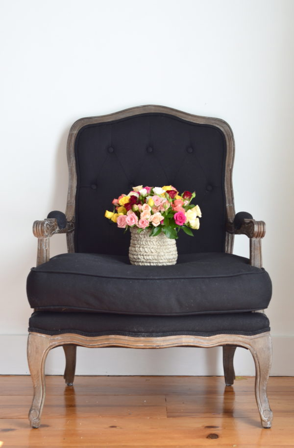 flowers chair