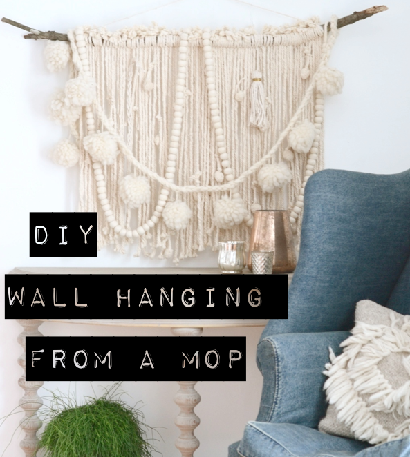 DIY wall hanging