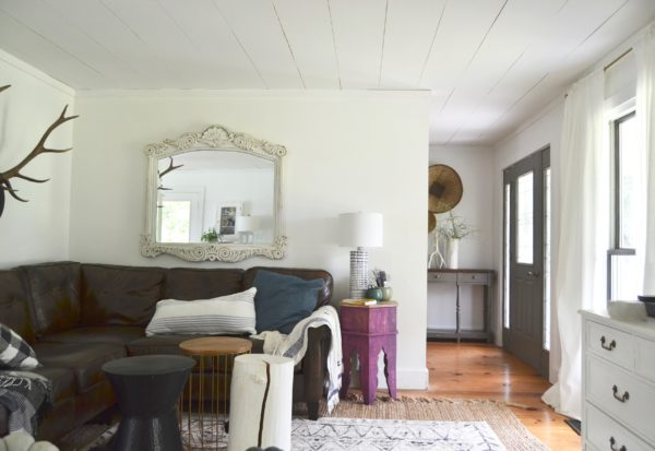 Fall home tour cozy minimalist style for Minimalist home tour