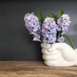 hand vase