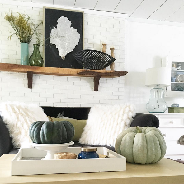 Fall Home Tour Cozy Minimalist Style