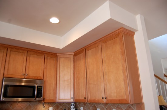 Kitchen Cabinets With Soffit Above Cabinets Matttroy