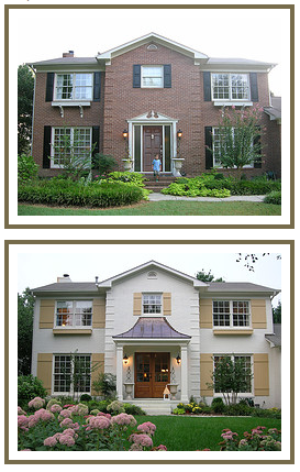 Thinking About Painting the Exterior of your Brick House? on Brick House Painting Ideas  id=60819