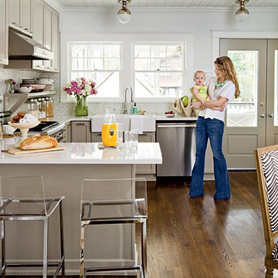 I Was Obsessed With This Kitchen In The July Issue Of Southern Living