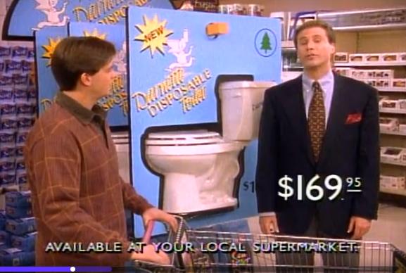 darnette disposable toilet