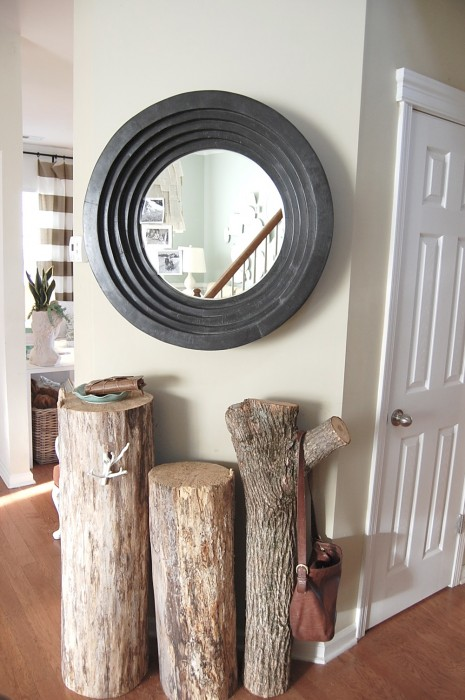 decorating with stumps