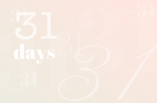 what is 31 days