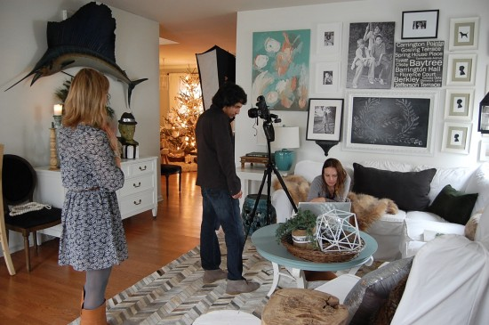 My Better Homes and Gardens Christmas Ideas Photo Shoot