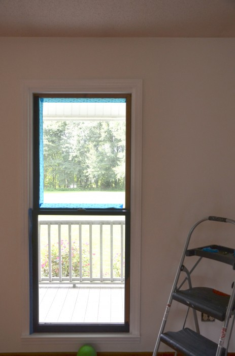 You Can Paint Your Black Frames Framed Windows