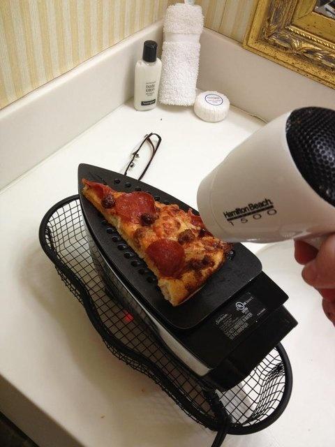 DIY Pizza heater upper