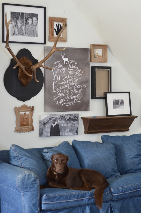 nesting place gallery wall