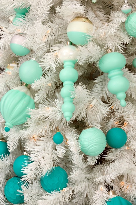 dipped ornaments