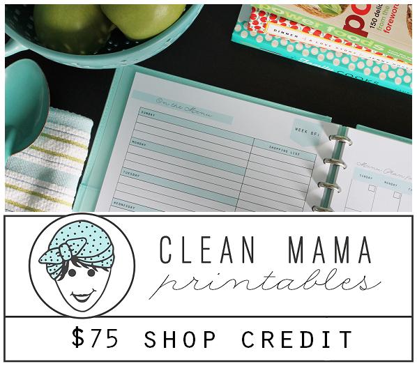 Clean Mama Printables