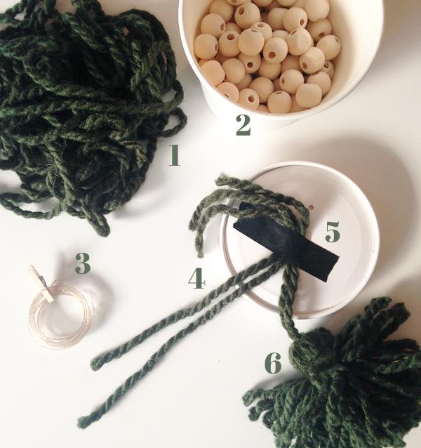 tassel craft supplies beads