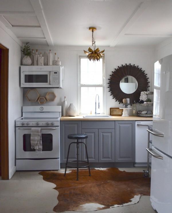 tiny office kitchen