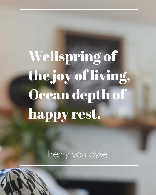 ocean depth of happy rest