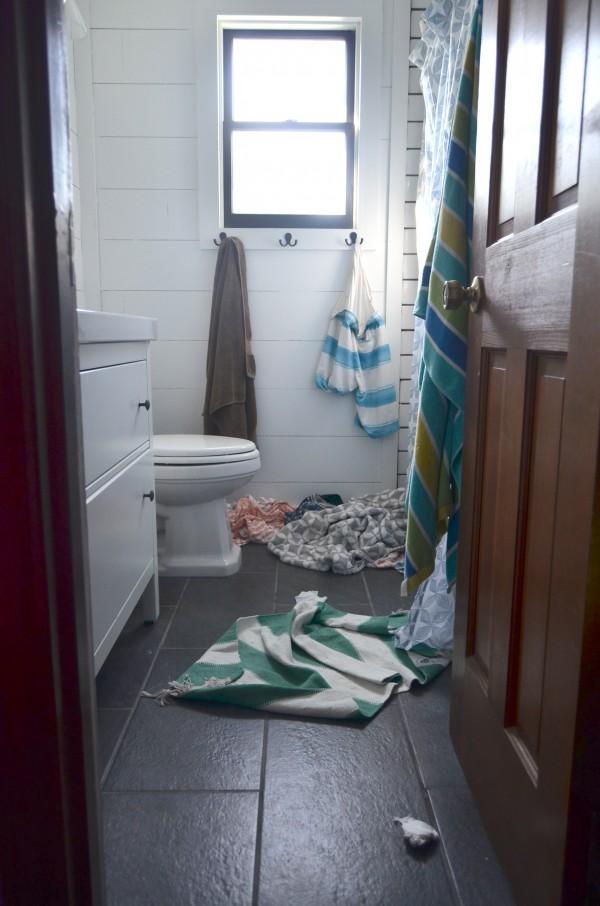 bathroom in progress