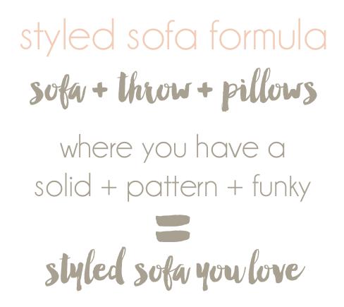sofa formula