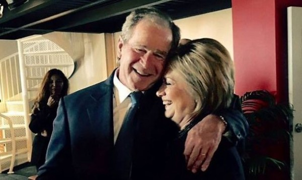 george and hillary