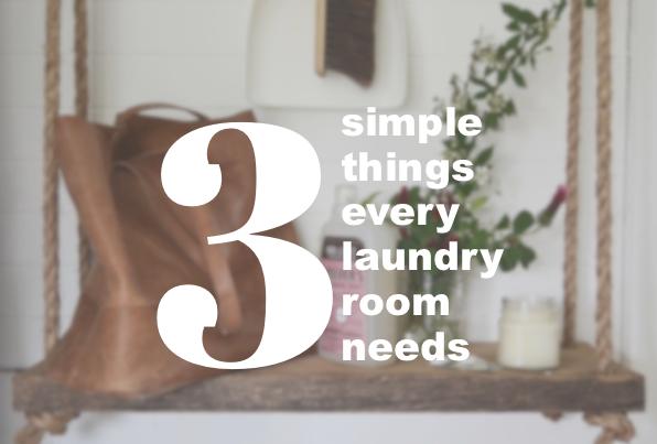 3 simple things
