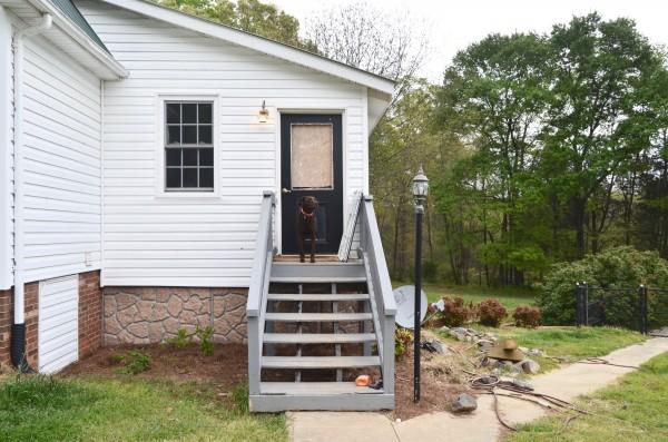 old back porch
