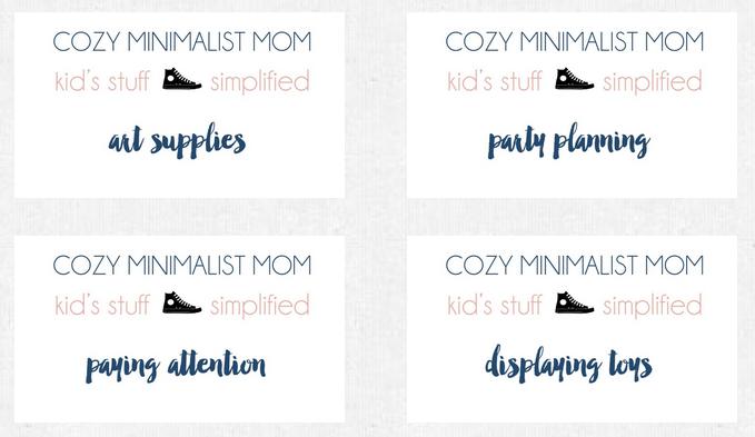 cozy minimalist mom course