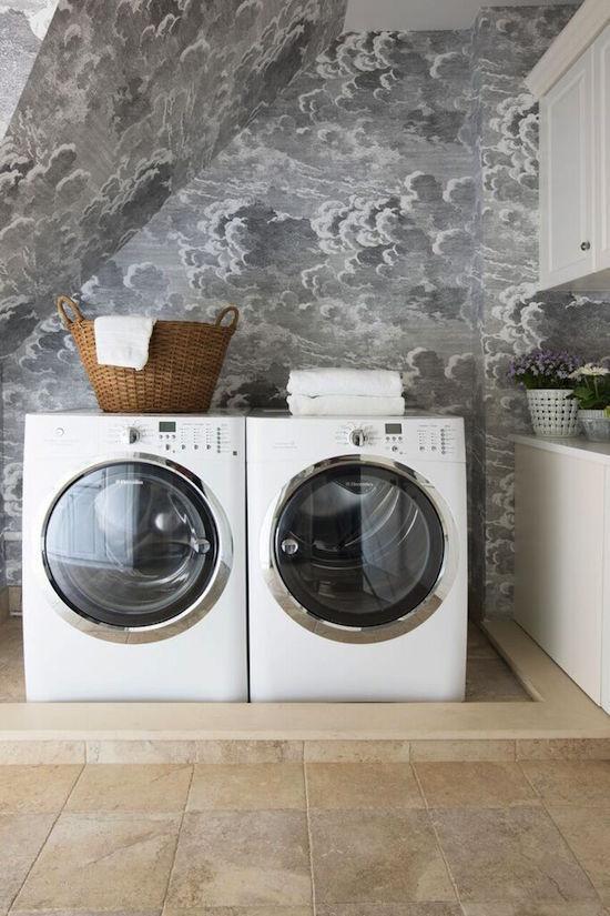 one room challenge laundry