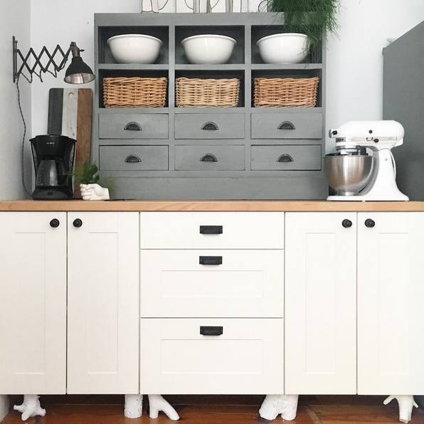 Quick And Easy DIY Cabinet Legs