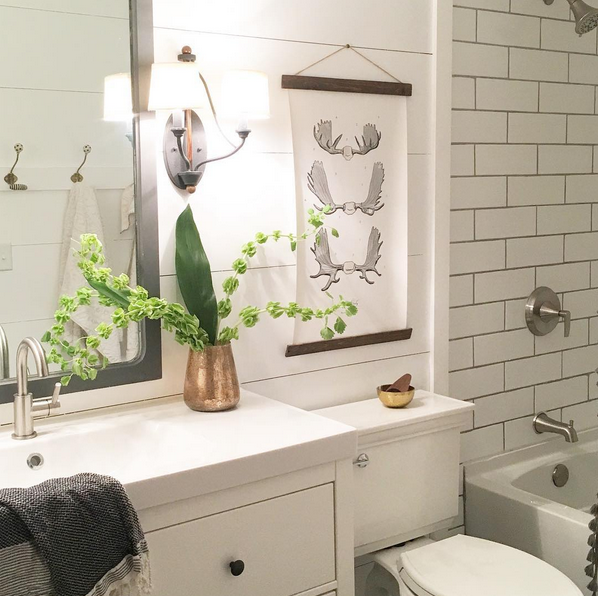 Our spur of the moment budget bathroom renovation - Cheap bathroom ideas for small bathrooms ...